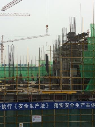 中电建金属结构研发中心项目钢结构安装工程